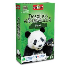 Desafíos de la Naturaleza: Asia - juego de cartas para 2-6 jugadores
