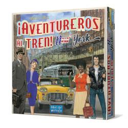 ¡Aventureros al tren! New York - juego estratégico de tablero