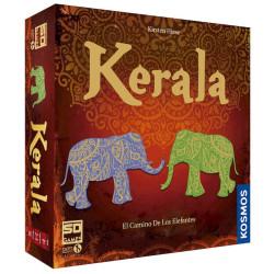Kerala: El camino de los Elefantes - Estratégico juego de suerte para 2-5 jugadores