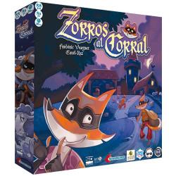 Zorros al Corral - Juego de memoria y observación para 2-4 jugadores