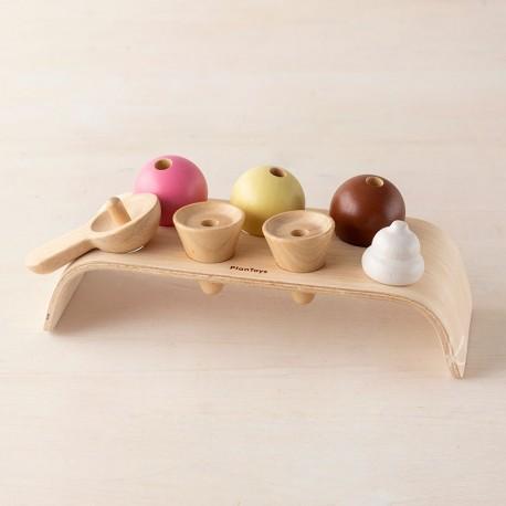 Joc dels cucurutxos - joguina de fusta