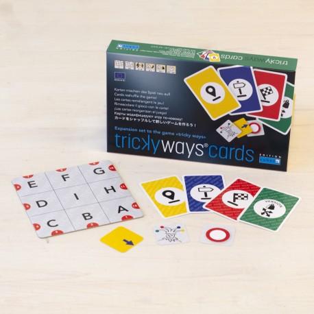 Cuboro Tricky Ways Cards - cartes que reorganitzen el joc