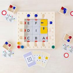 Cuboro Tricky Ways Cards - cartas que reorganizan el juego