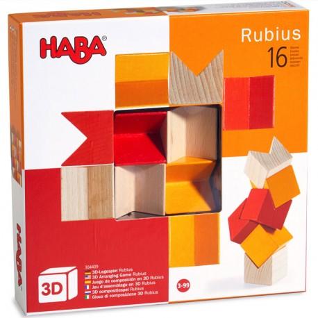 Rubius - Juego de composición en 3D