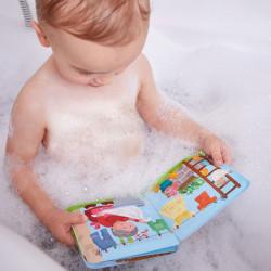 Libro para el baño - Día de baño para el cerdo y la vaca