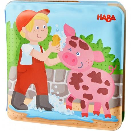 Llibre per al bany - Dia de bany per al porc i la vaca