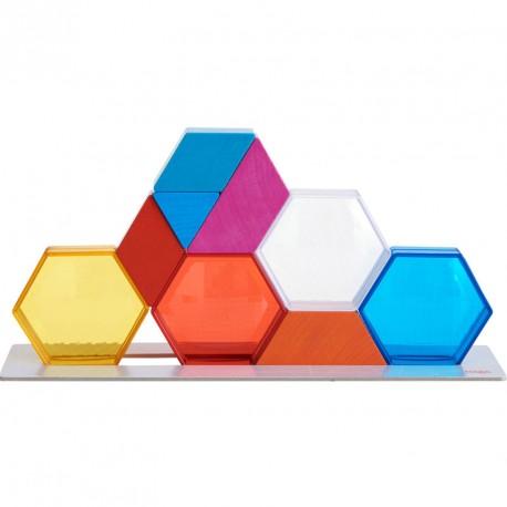 Cristales de Colores- Juego de apilar