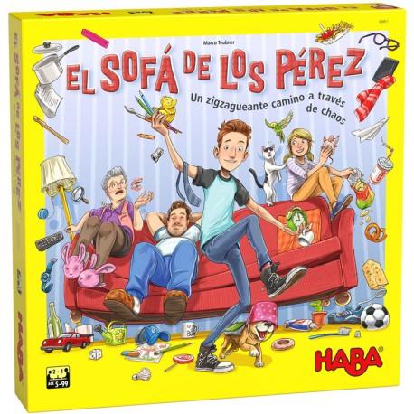 El Sofá de los Pérez -  Caótico juego de memoria para 2-4 jugadores