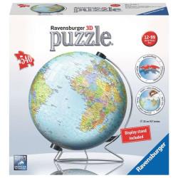 Puzzle 3D Globo Terráqueo - 540 piezas
