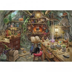 Escape Puzle: La cocina de la Bruja - 759 piezas