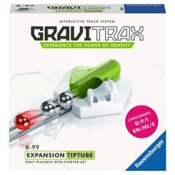 GraviTrax Expansión Tip Tube - pista de canicas interactiva