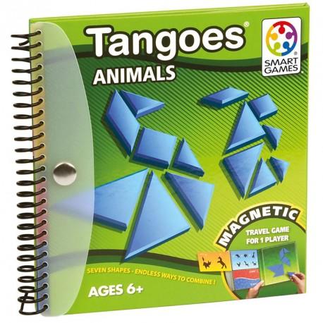 Tangoes Animales - tangram magnético de lógica para 1 jugador