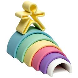 dëna Rainbow - mi primer arco iris pastel de silicona