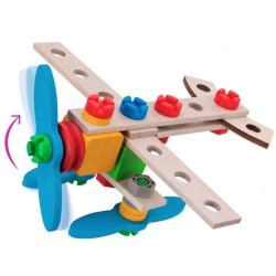 Constructor Avión 40 piezas - Juego de construcción