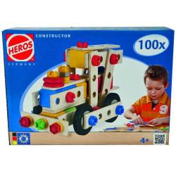 Constructor Locomotora 100 piezas - Juego de construcción