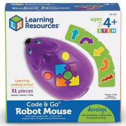 Ratón Robot Code - juego educativo