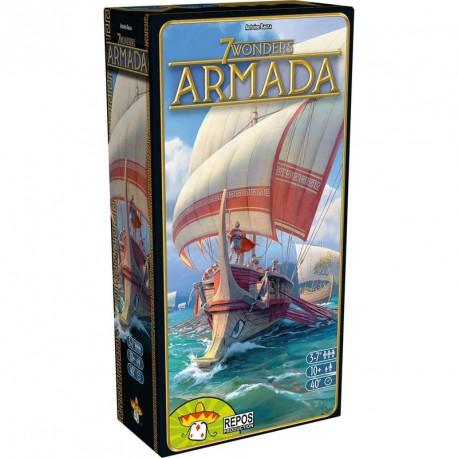 7 Wonders Armada - Expansión del juego de mesa estratégico para 3-7 jugadores