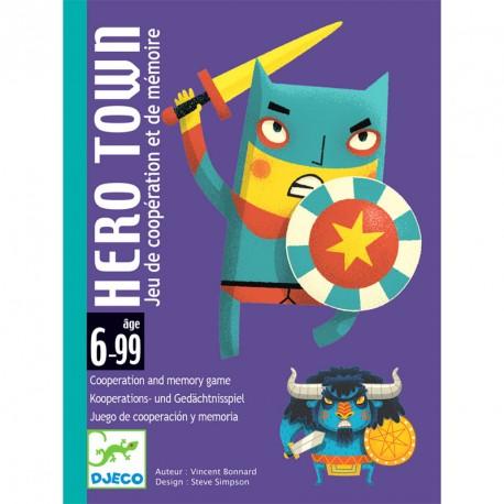 Hero Town - Juego de cartas cooperativo y de memoria
