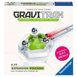 GraviTrax Expansión Volcano - pista de canicas interactiva