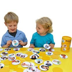 Sentimientos y Emociones - juego de identificación y memoria