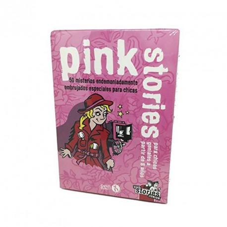 pink stories júnior - 50 misteris endimoniadament embruixats