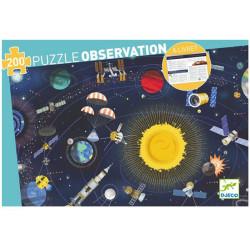 Puzzle observación - El Espacio - 200 pzas.