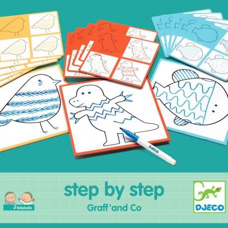 Aprende a dibujar con Step by Step Graff and Co