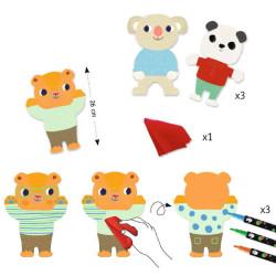 3 pizarras para dibujar - Animales Encantadores