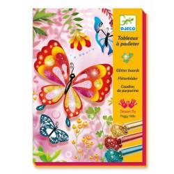 Cuadros de purpurina - Mariposas y cia.