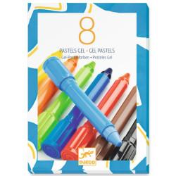 8 ceras gel colores clásicos
