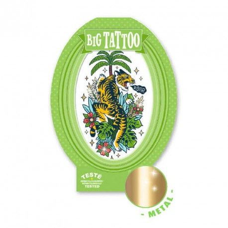 Tatuaje Big Tattoo - Tigre