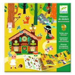 Historias con pegatinas - El Bosque Mágico