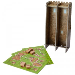 Carcassonne expansión La Torre - Juego de estratégia