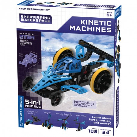 GIGO Kinetic Machines - juguete de construcción