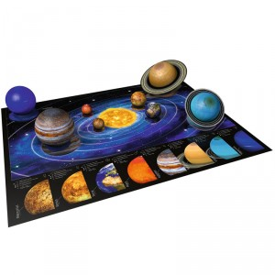 Puzzle 3D Sistema Planetario - 522 piezas