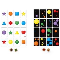 Color Battle - juego de rapidez visual con cartas para 2-6 jugadores