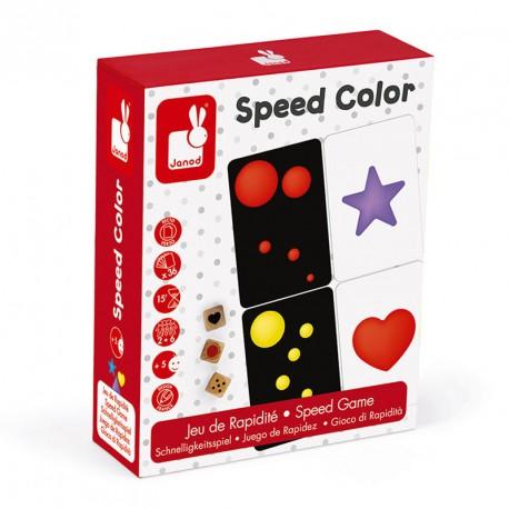 Color Battle - joc de rapidesa visual amb cartes per a 2-6 jugadors