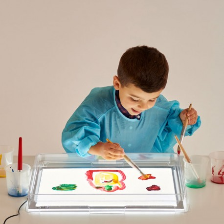 Safata d'exploració transparent per a taula de llum A3