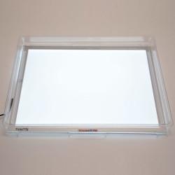 Bandeja de exploración transparente para mesa de luz A3