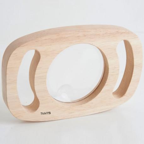 Lupa de mà de fusta