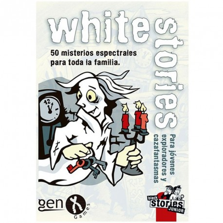 White stories júnior - 50 mistèris espectrals