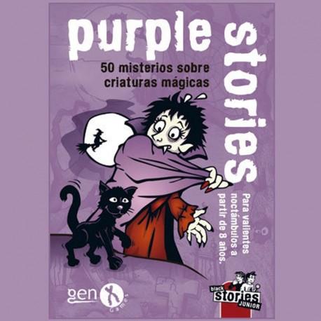 Purple stories júnior - - 50 misteris sobre criatures màgiques