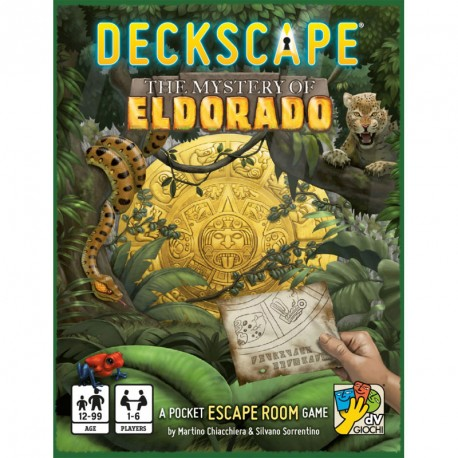 Escapa! El misteri de Eldorado - Joc de escape room per a 1-6 jugadors