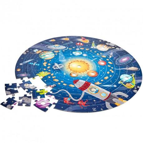 Puzzle circular Sistema Solar - 100 piezas