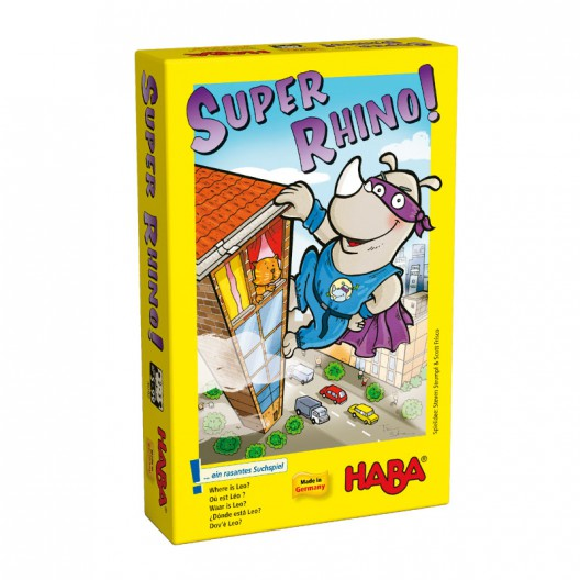 Rhino Hero - Heroic joc per a la motricitat fina en catalá