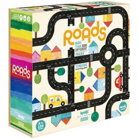 Roads: Carreteras - juego cooperativo familiar para 1-6 jugadores