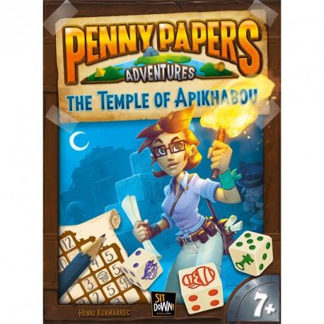 Penny Papers: El Templo de Apikhabou - juego de búsqueda del tesoro para 1-100 jugadores