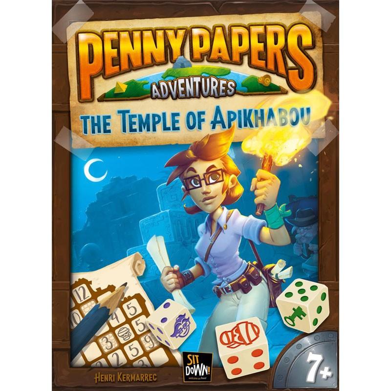 Penny Papers El Templo de Apikhabou juego de dados - envío 24/48 h -  kinuma.com tienda de juegos de estrategia
