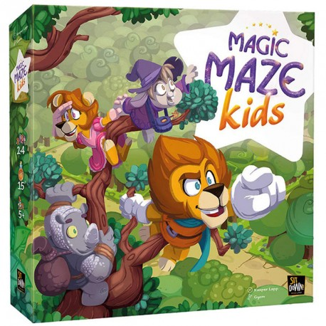 Magic Maze Kids - juego cooperativo para 2-4 jugadores