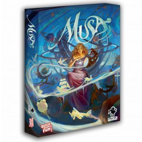 Musa - intuitivo juego de creatividad para 2-12 jugadores